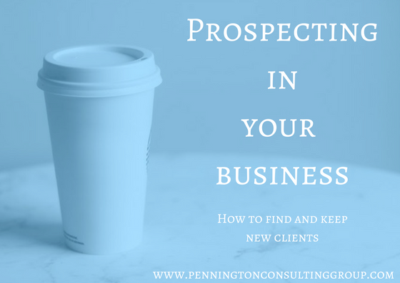 prospecting in your business