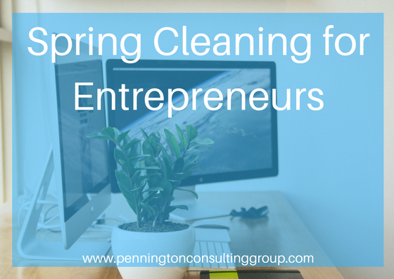 spring cleaning for business owners